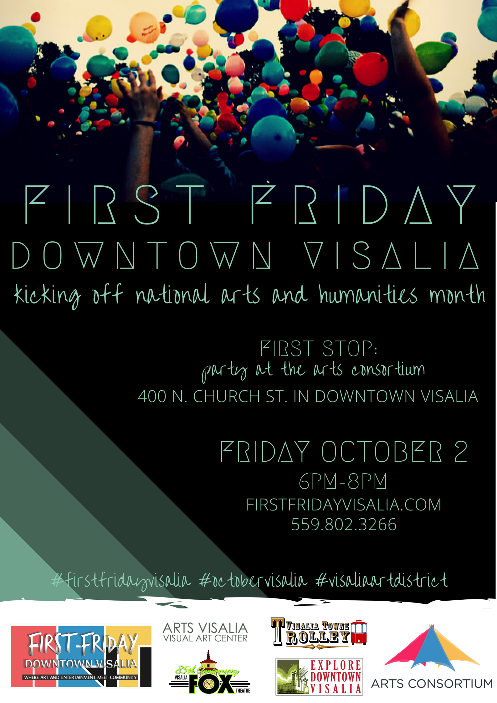 First Friday October Poster