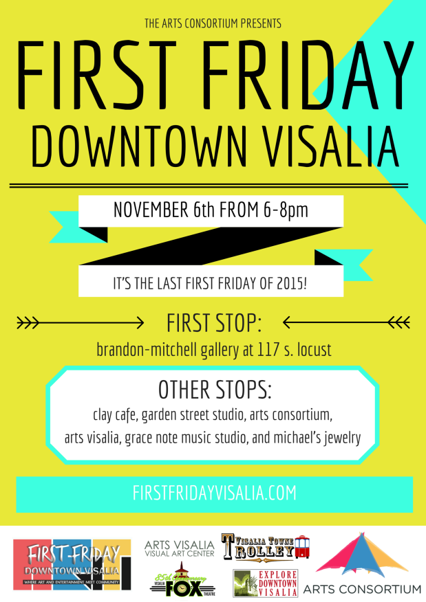 First Friday November Poster